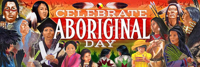 Giant Aboriginal Day Banner