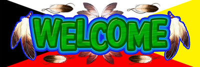 Large Welcome Banner