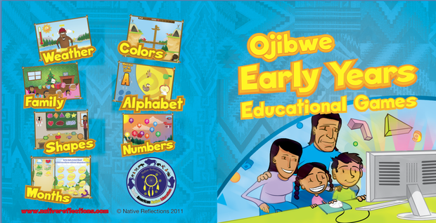 Ojibwe Early Years Educational Games