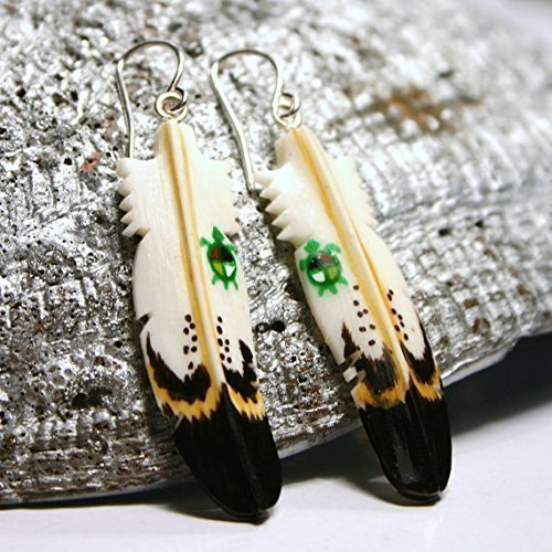 Bone Earrings (Earth)