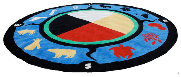 Medicine Wheel Kids Carpet