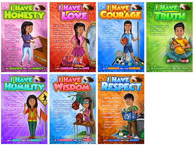 Seven Teachings Character Poster Set