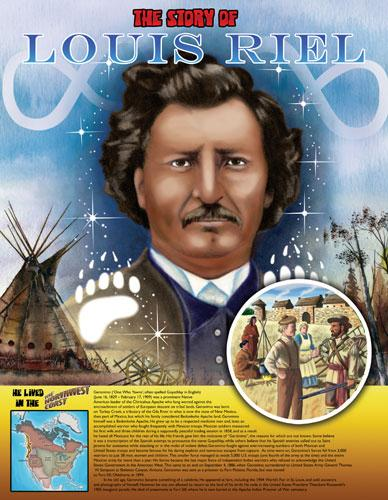 Native Leaders Posters - Louis Riel