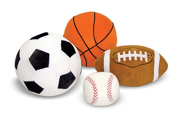 Plush Sports Ball Set