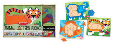 Animal Pattern Blocks Set