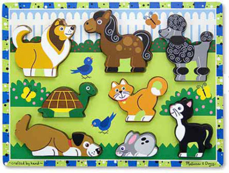 Pets Chunky Puzzle - 6 Piece8