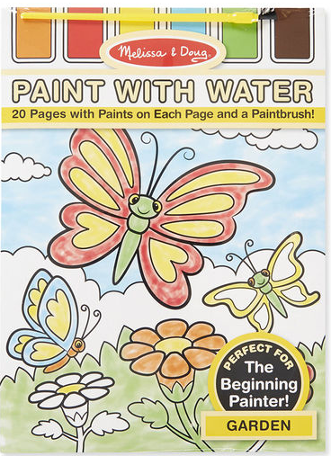 Garden Paint with Water Kids Art Pad