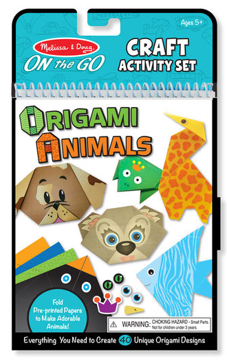 On the Go Craft Origami Animals