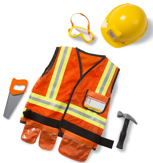 Construction Worker Role Costume