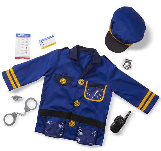 Police Officer Role Costume