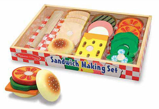 Sandwich Making Set Wooden
