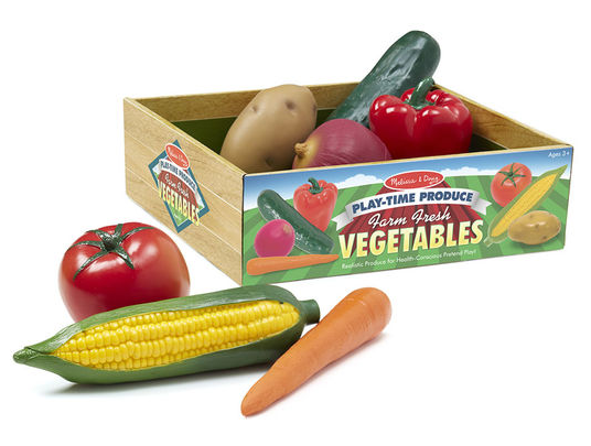 Play Time Produce Vegtable Set