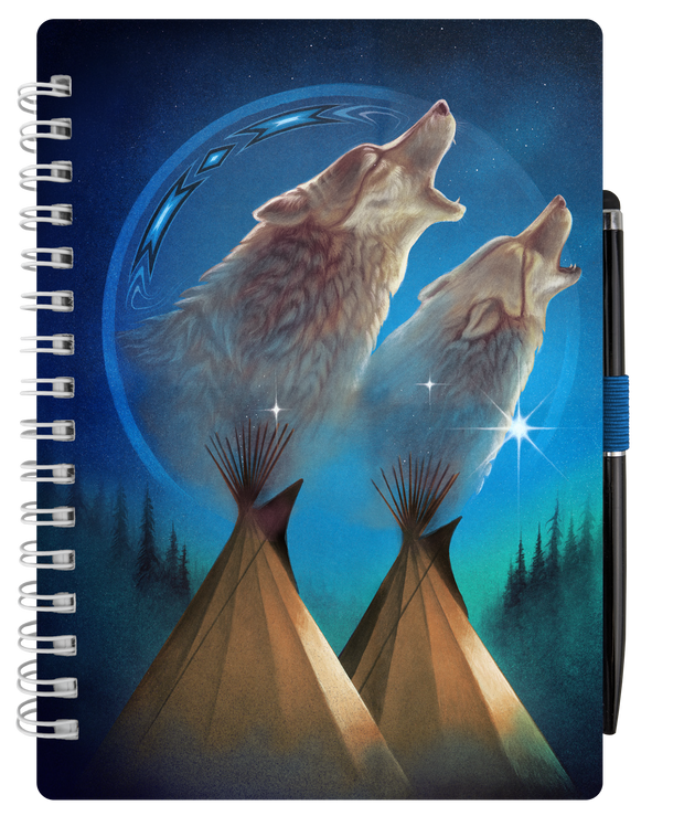 Notebook (Wolves)