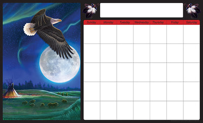 Monthly Calendar (Eagle)