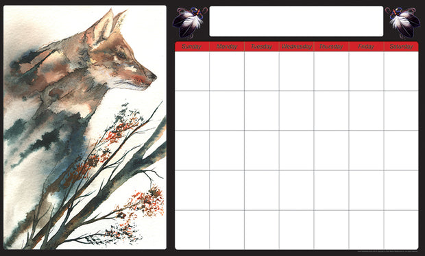 Monthly Calendar (Fox)
