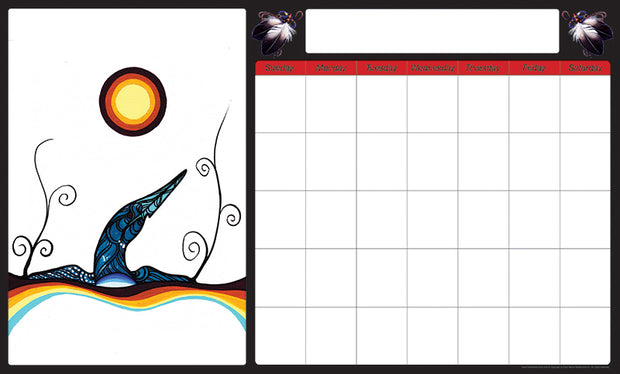 Monthly Calendar (Loon)