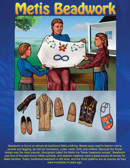 Native Teaching Posters - Beadwork