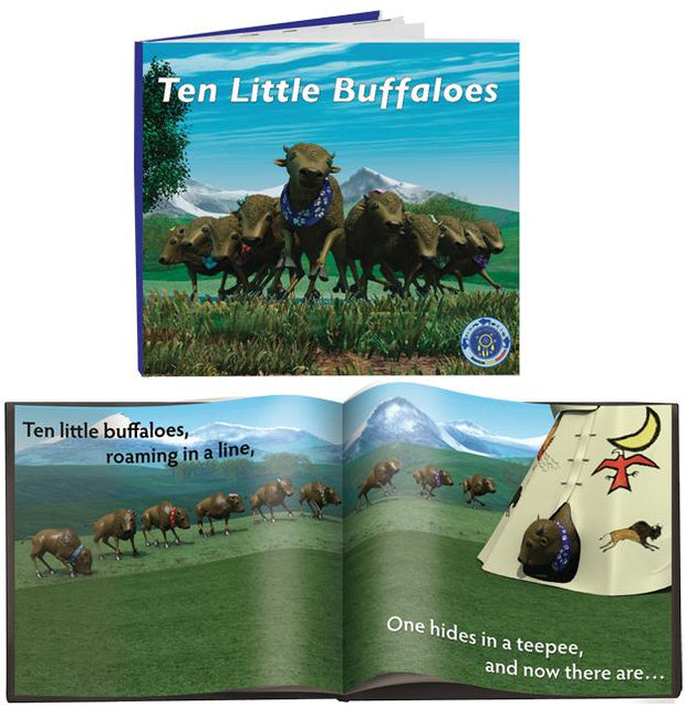 Ten Little Buffalo