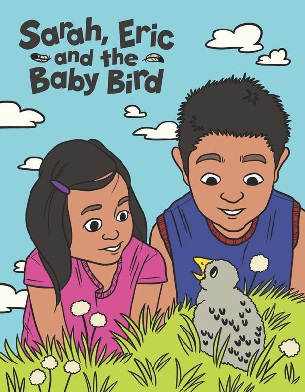 Sarah, Eric And The Baby Bird