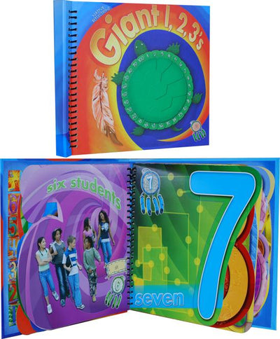 Giant 123's Book