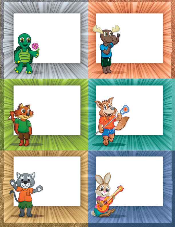 Name Tags (Animals)