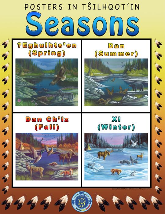 Tsilhqot'in Poster - Seasons