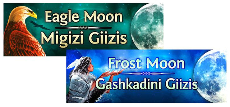Ojibwe Moon Headers