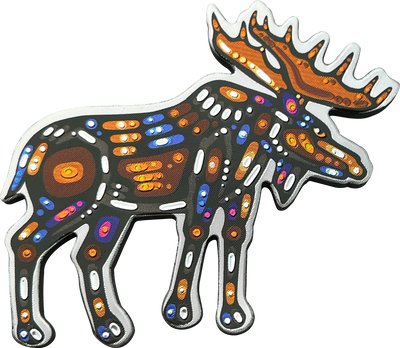 Moose Metallic Magnet