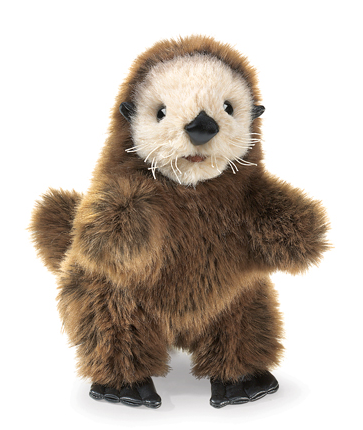 Hand Puppet - Baby Sea Otter