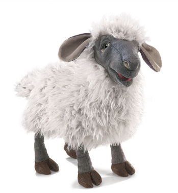 Hand Puppet - Bleating Sheep
