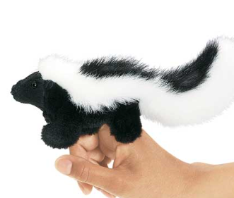 Hand Puppet - Mini Skunk