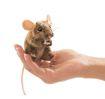 Hand Puppet - Mini Field Mouse