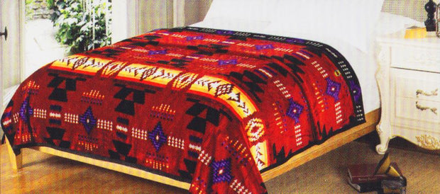 Queen Sized Blanket - Red