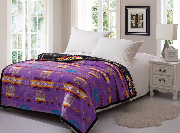 Queen Blanket (Purple)