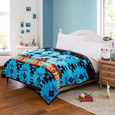 Queen Sized Blanket - Teal