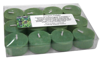 Boxed Tea Lights Sweetgrass