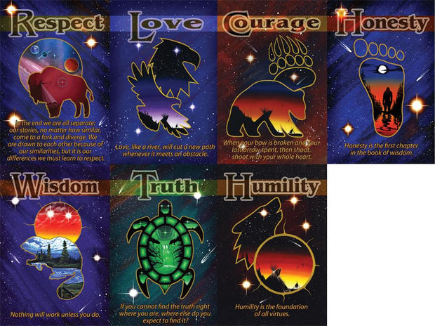 Spirit Animal Seven Teachings