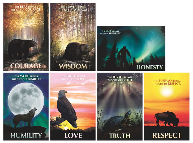 Bringers Seven Teachings poster set