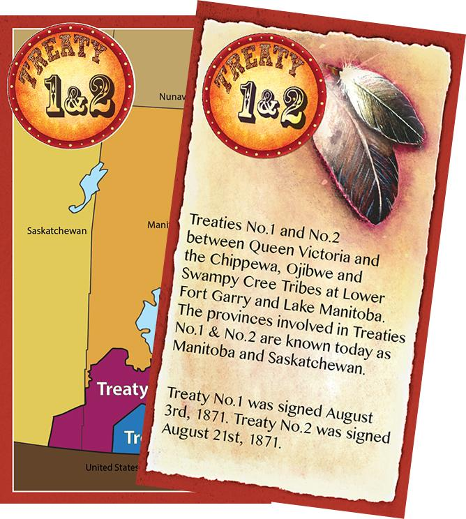 Numbered Treaty Trading Cards
