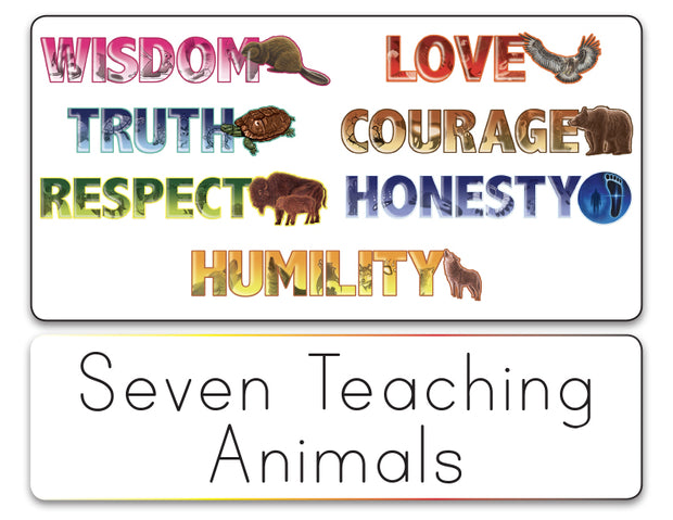 Picture Card Language Resources Tool Set - The Seven Teachings