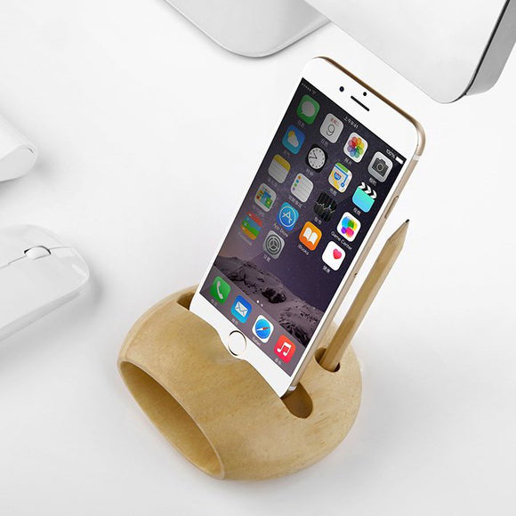 Wooden iPhone Stand