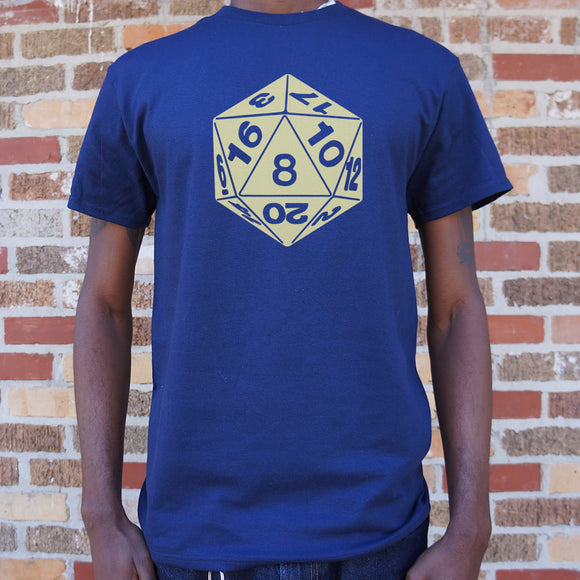 20-Sided Die T-Shirt (Mens)