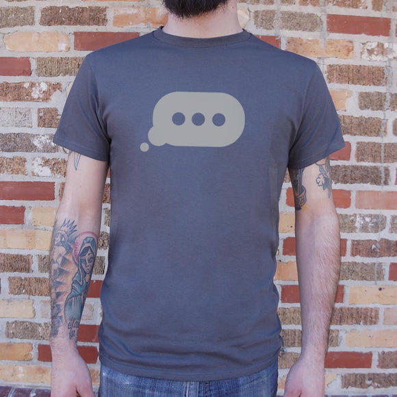 Typing Bubble T-Shirt (Mens)