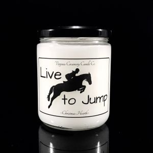 Live to Jump Candle