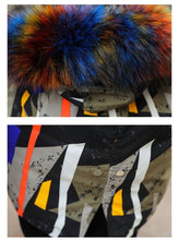Load image into Gallery viewer, WICKED MULTI COLOR HOODED JACKET