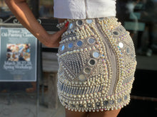 Load image into Gallery viewer, DIAMONDS AND PEARLS SKIRT