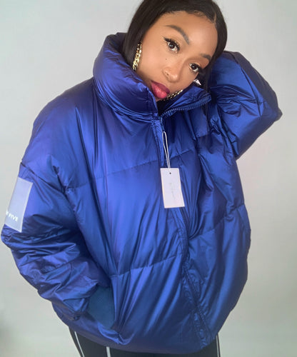 Burst Your Bubble Jacket - Blue