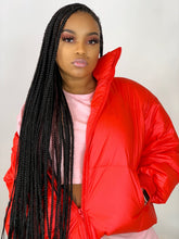 Load image into Gallery viewer, Burst Your Bubble Jacket - Cherry Red