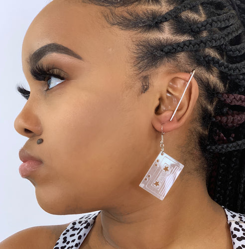 MixTape Casette Earrings