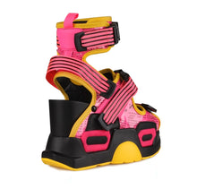 Load image into Gallery viewer, PINK LEMONADE Chunky Platform Sandals